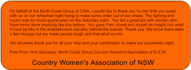 Country Women's Association of NSW - Conference Coffs Harbour