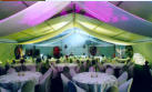 Bay Marquee - just a short walk from Conference Rooms