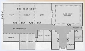 Conference Room - Layout Plan - Novotel Pacific Bay Resort